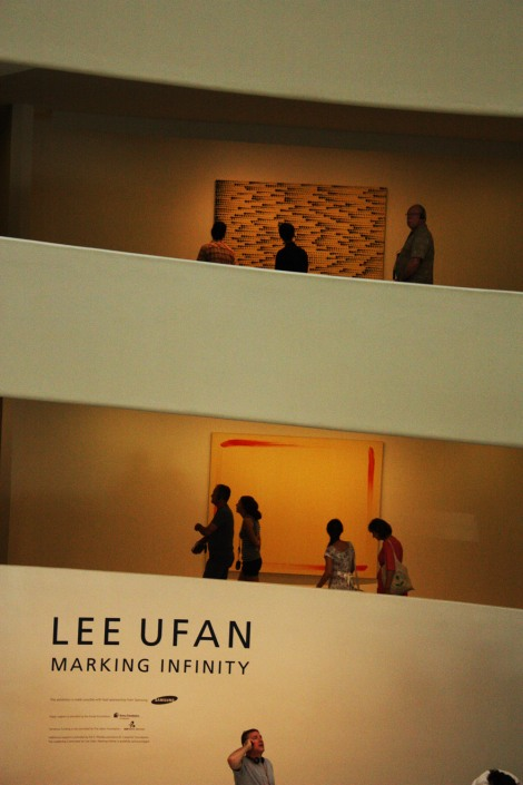 Guggenheim : Expo Lee Ufan