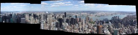 Panorama depuis Empire State Building